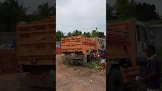 #22 Mobil Truck, Dump Truck, Hyundai Dump Truck, Super Truck, Shorts #22 Short