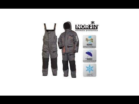 видео: Костюм рыболовный зимний norfin extreme 3