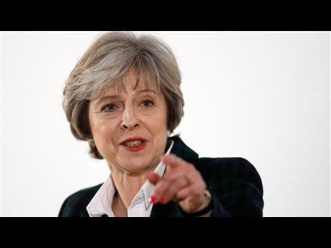 Theresa May Says U.K. Will Exit EU Single Market