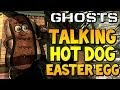 """COD Ghosts - """"TALKING HOT DOG EASTER EGG"""" on Strikezone (Call of Duty Secrets) 