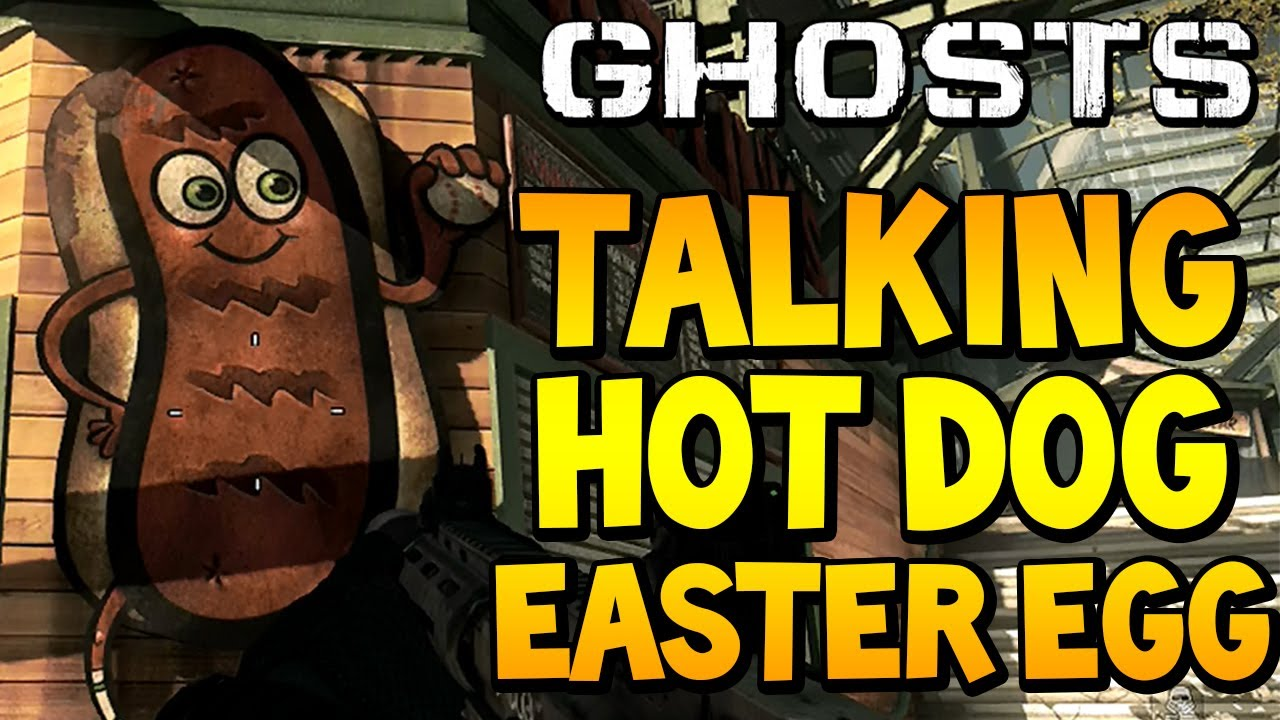 Cod Ghosts Talking Hot Dog Easter Egg On Strikezone Call Of
