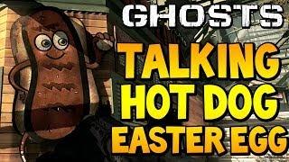 COD Ghosts - 'TALKING HOT DOG EASTER EGG' on Strikezone (Call of Duty Secrets)