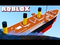 SURVIVING THE TITANIC IN ROBLOX!