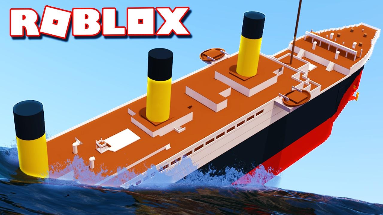 Roblox Titanic HD Building NEW! - Roblox