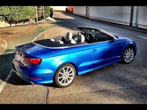 Audi A3 Cabriolet  review Autovisie TV