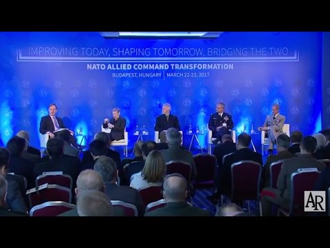 NATO Transformation Seminar 2017. Panel Discussion With Military Leaders On Global Threats.