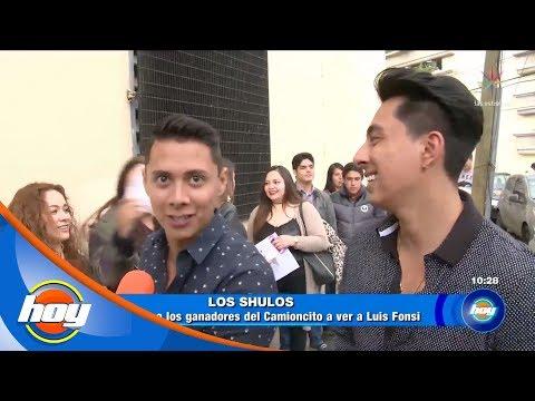 El Party Hoy en el concierto de Luis Fonsi | Los Shulos | Hoy