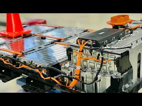 2017 Chevrolet Bolt Battery Disassembly