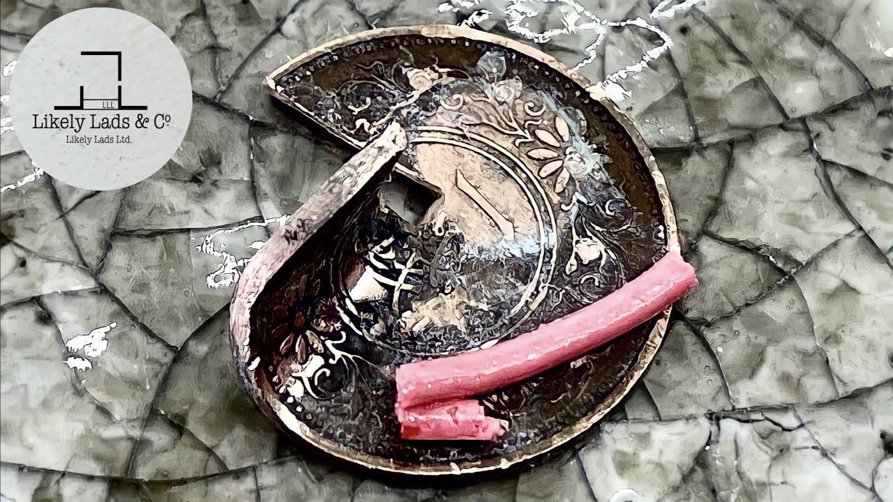 Restoration Old Coins by a Psychopath サイコパスによるコイン磨き 古銭加工 ピカール、ダイヤモンドペースト使用 ASMR
