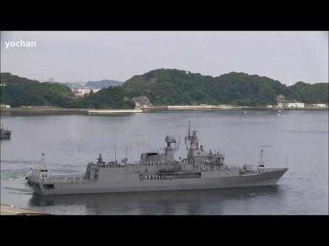 Royal New Zealand Navy (RNZN) Anzac-class frigate,HMNZS Te Mana (F111) Departure!