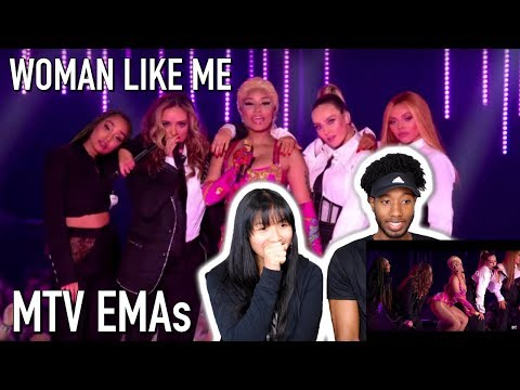 "NICKI MINAJ & LITTLE MIX - ""GOOD FORM / WOMAN LIKE ME"" LIVE @ MTV EMAS 2018 