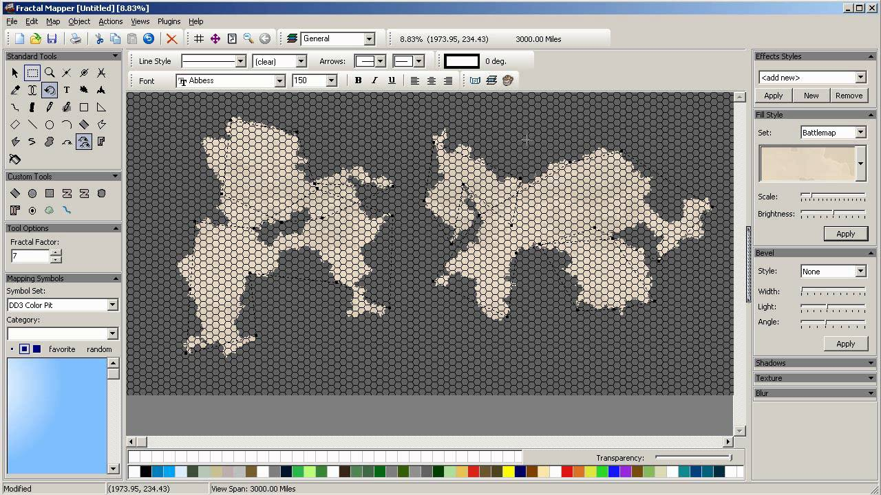 2014 E1 Basic World Layout (Fractal Mapper)