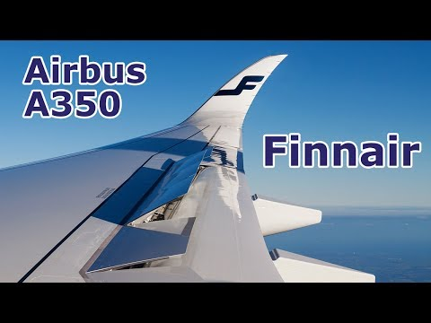 Airbus A350-900 Finnair | Inflight Experience | Helsinki to Hamburg