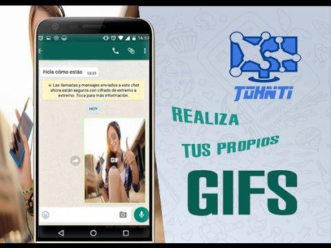 Como crear GIF animados para Whatsapp