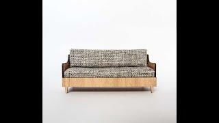 The Tiny Timber Co: Mid Century Sofa