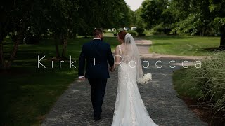A Pandemic Cannot Stop Love | Kirk & Rebecca | Wedding Film