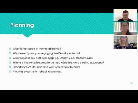 Progressive Legal - Webinar - How to deal with Website Developers