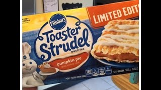 Toaster Strudel Pumpkin Pie!  Whipped Cream Not Included