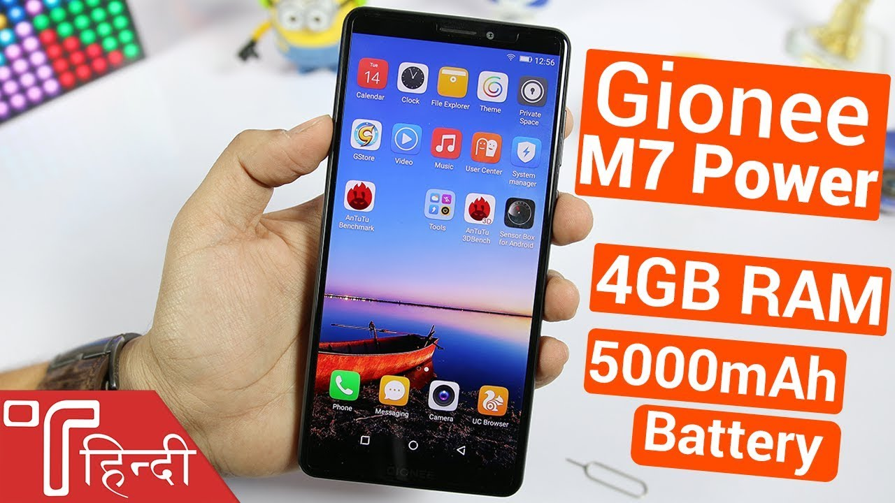 Gionee M7 Power Hands On review in HINDI [Specs, Price in India, Camera &  Features]
