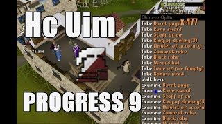 [HcUim] Progress 9 - Almost lost everything I owned! :O