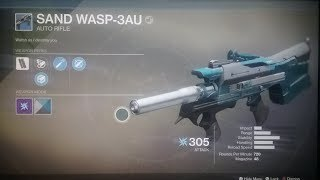 Sand Wasp 3AU- The BEST Auto Rifle You're Not Using!!!