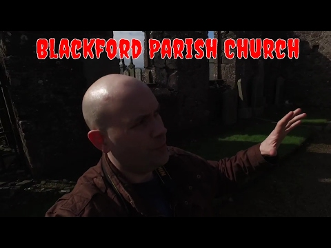 Haunted Scotland: Short Tour Around Old Blackford Parish Church.