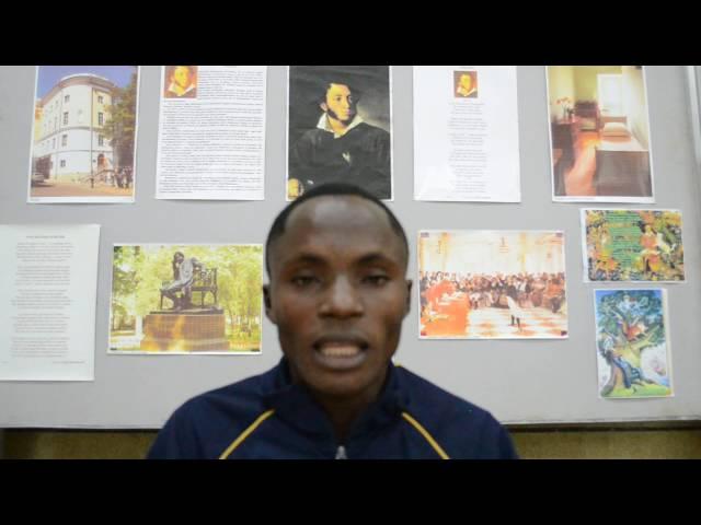 Изображение предпросмотра прочтения – Франк (Franck)Уандо-Нгокаба (WANDO-NGOKABA) читает произведение «Зимний вечер» А.С.Пушкина