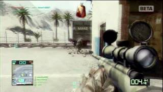 Battlefield Bad Company 2 Beta Montage - C4, Knifes and Snipes - RNX Lanky thumbnail