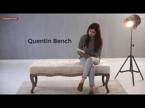 Benches- Buy Quentin Bench Online From Wooden Street