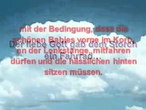 Storch gedicht