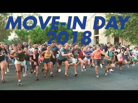 Pomona College Move-in Day 2018