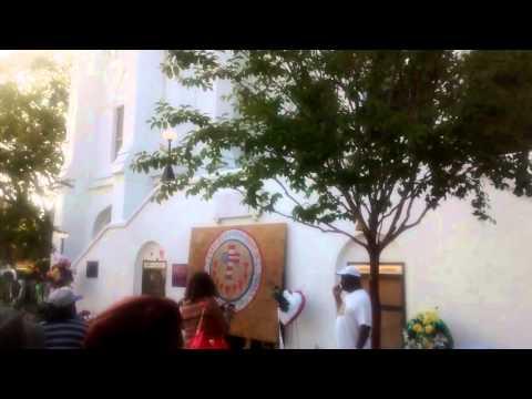 Emanuel AME Church Visit