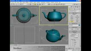 1. Интерфейс и основы моделирования (Autodesk 3ds Max)