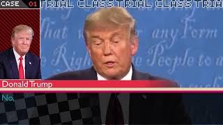 2020 Presidential Debate but its Danganronpa