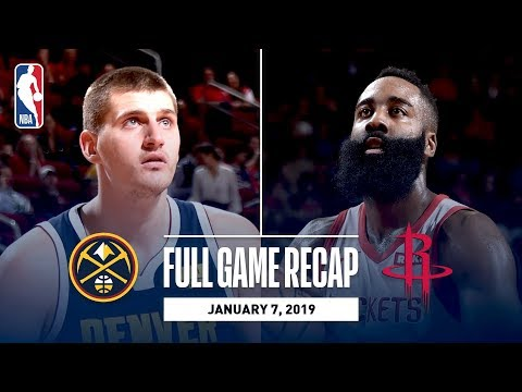 Full Game Recap: Nuggets vs Rockets | Harden Drops 32 & 14