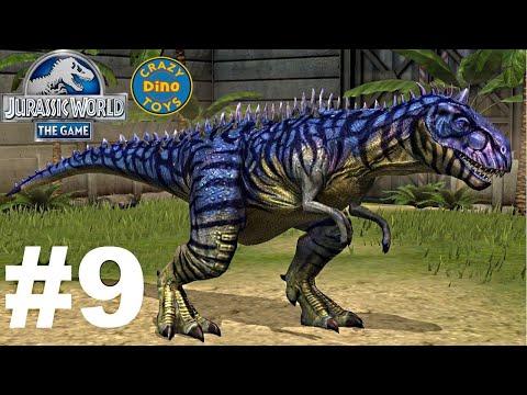Jurassic World - The Game Dinosaurs Ludia Carnotaurus Episode 9 HD - WD Toys