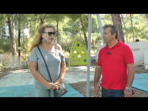 Ο αντιδήμαρχος Παντελής Ζωίδης για τις υπό κατασκευή παιδικές χαρές στην Κάλυμνο