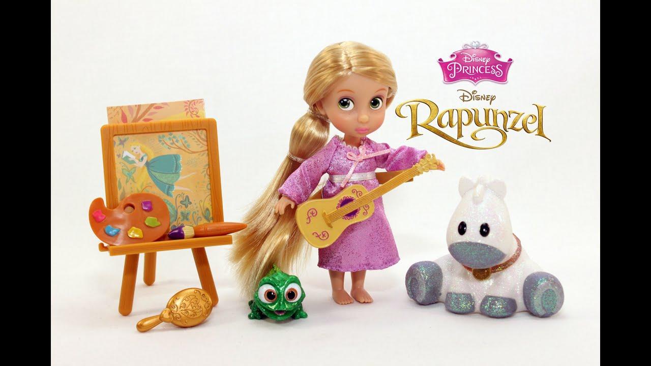 New Disney Store Rapunzel Animators/' Doll Collection Gift Set