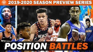 New York Knicks 2019-2020 Season Preview | Point Guard and Shooting Guard Battle | Training Camp