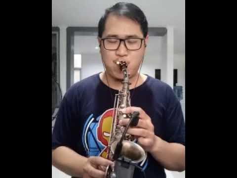 Kiss the rain saxophone cover by Jimmy K