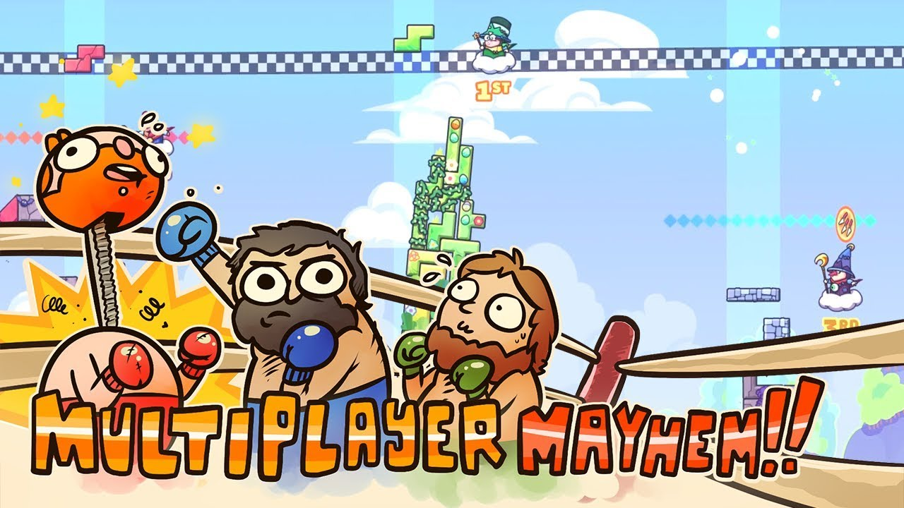 Multiplayer Mayhem - Tricky Towers: The Revengining