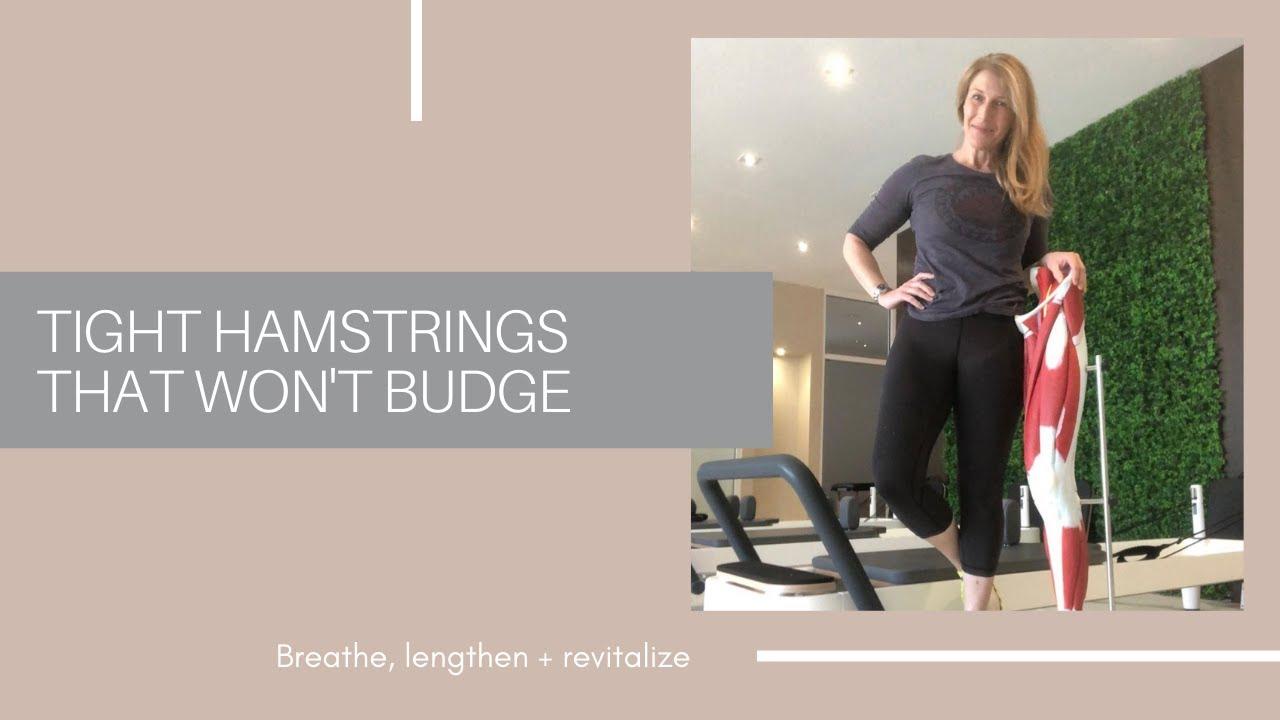 Tight Hamstrings That Won't Budge