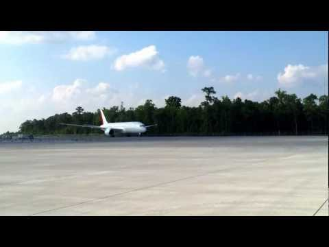 The first Boeing 787 born in Charleston, SC
