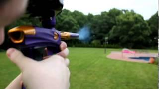 De zapateira pistola paintball
