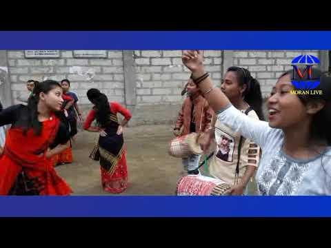 Moran Live- মৰাণৰ ছোৱালী হুঁচৰি