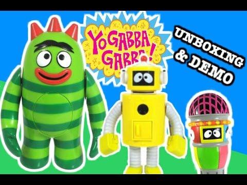 YO GABBA GABBA Toy Review