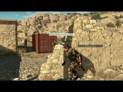 Metal Gear Solid 5: The Phantom Pain - E3 2014 Gameplay Demo with Dev Comments (EN)