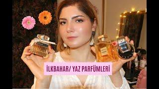 FAVORİ İLKBAHAR/ YAZ PARFÜMLERİM 🌸 | PARFÜM | Deniz Kömürcü