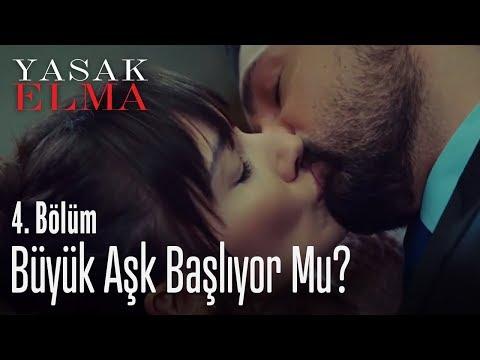 Alihan, Zeynep'i öptü  Yasak Elma 4. Bölüm