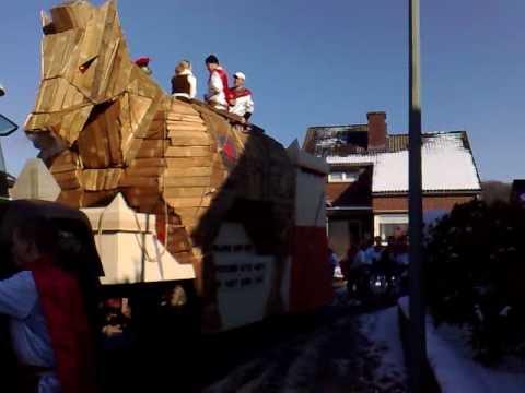 Paard van Troje in de optocht van Bemelen 2010 (3e prijs)